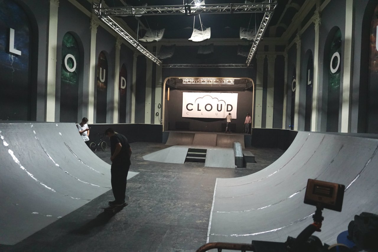 Cloud skatepark mix